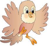 Bird illustration — Stock Photo