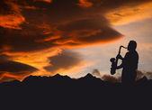 музыкант — Стоковое фото