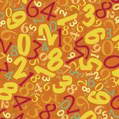 Fundo de números — Fotografia Stock