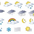 Weather icons — Stock Photo #19527303