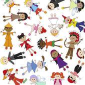 Children background — Stock Photo