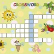 Crossword — Foto de stock #22575151