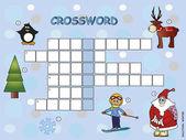 Crossword — Stock Photo