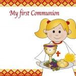 First communion — Stock Photo #23175618