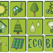 Ecology icons — Foto Stock