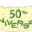 Stock Photo: 50th anniversary