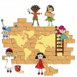 World children - Stock Photo