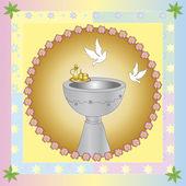 Batismo — Fotografia Stock