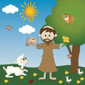 St. Francis of Assisi — Stock Photo