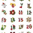 Christmas numbers — Stock Photo #32185587