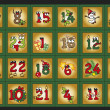 Advent calendar — Foto de Stock