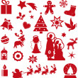 Christmas icons — Foto de stock #36343011