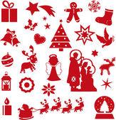 Ícones de Natal — Fotografia Stock