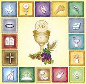 Cartão de religião — Fotografia Stock