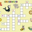 Crossword — Foto de stock #38756887