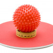 Massage ball — Stock Photo