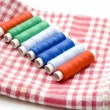 Sewing cotton - Stock Photo
