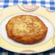 Potato Rösti on Plate — Stock Photo
