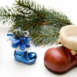 Christmas boot — Stockfoto