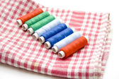 Sewing cotton — Stockfoto
