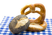 Salted pretzel — Stock Photo