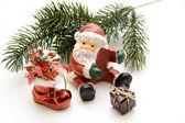 Christmas man — Stock Photo
