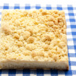 Stock Photo: Fresh crumb cake