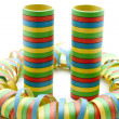 Coloured streamers — Stock Photo #14629409