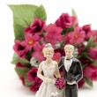 Stock Photo: Wedding pair