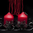 Stock Photo: Red Candles