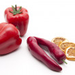 Stock Photo: Red Vegetables