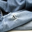 Denim slacks — Stock Photo