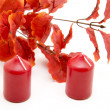 Wax candles — Stock Photo