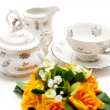 Coffee Set for Special Occasion — Zdjęcie stockowe