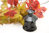 Lantern for candles — Stock Photo