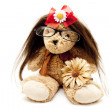 Foto Stock: Plush rabbit