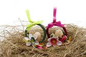 Easter jewellery — Stock Photo