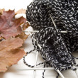 Stock Photo: Cord wool
