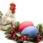 Coloured Easter egg — Stock Photo #15726219