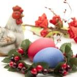 Coloured Easter egg — Stock Photo