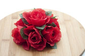 Rose flower arrangement — Stock Photo