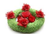Green wreath — Stock Photo