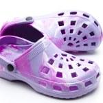 Coloured ladies shoes — Stock Photo #17173597