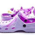 Coloured ladies shoes — Stock Photo #17173611