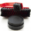 Shoe polish with brush — Stock Photo #17173645