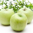 Fresh green apples — Stock Photo #17613519