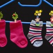 Baby socks — Stock Photo