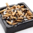 Full ashtray — Stock Photo