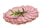 świeży pieprz salaminy — Zdjęcie stockowe
