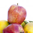 Apples and oranges — Stock Photo